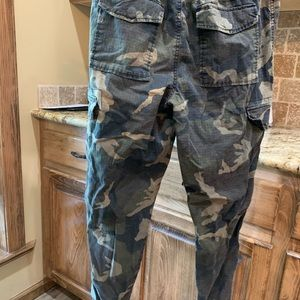 Old navy size small camo joggers